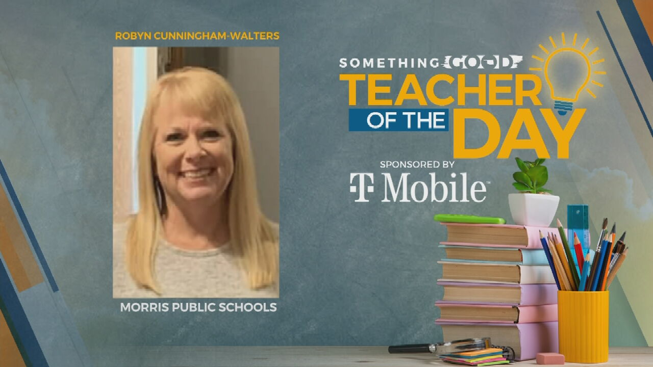 Teacher Of The Day: Robyn Cunningham-Walters