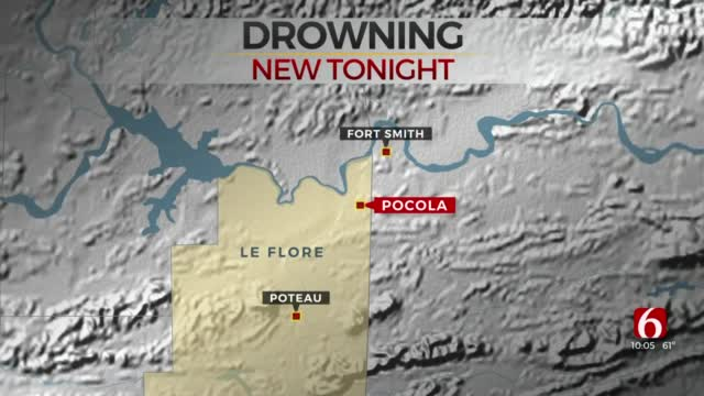 LeFlore County Man, Daughter Drown After Jeep Slid Into Pond