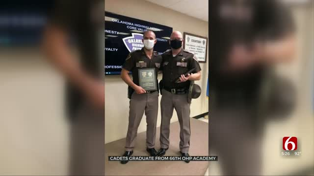 Cadets Graduate From 66th OHP Academy