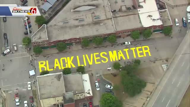Tulsa City Council Votes To Remove Black Lives Matter Mural From Greenwood