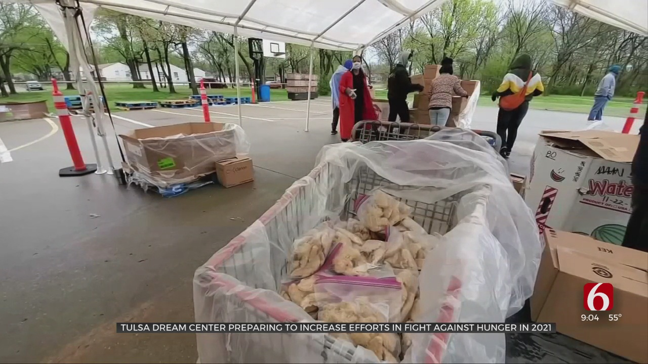 Tulsa Dream Center Preparing To Increase Efforts To Fight Against Hunger In 2021
