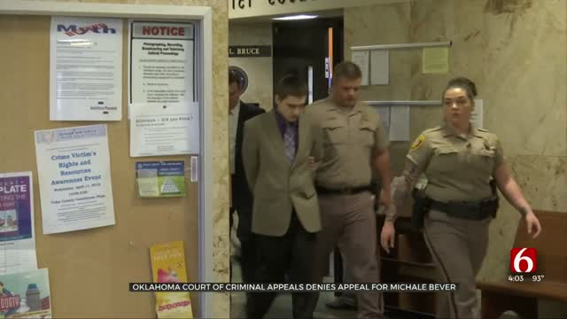 Oklahoma Court Of Criminal Appeals Denies Appeal For Michael Bever
