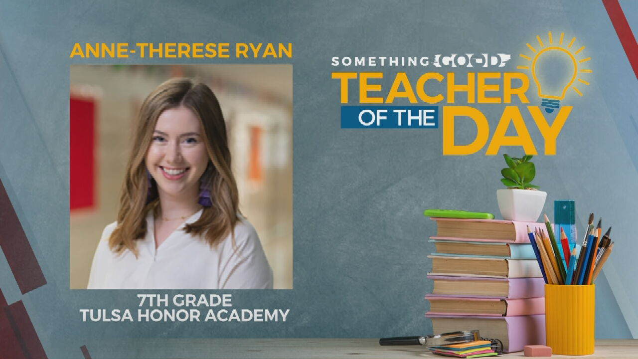 Teacher Of The Day: Anne-Therese Ryan