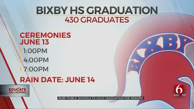 Bixby Public Schools To Hold Graduation At Football Stadium