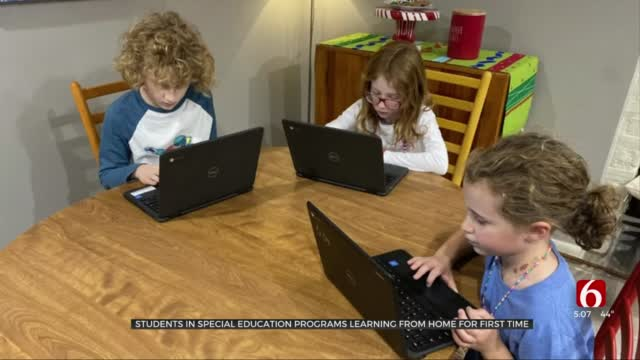TPS Students In Special Education Programs Learning From Home For First Time
