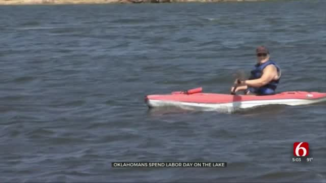 OHP: More People On Oklahoma Lakes For Labor Day During Pandemic