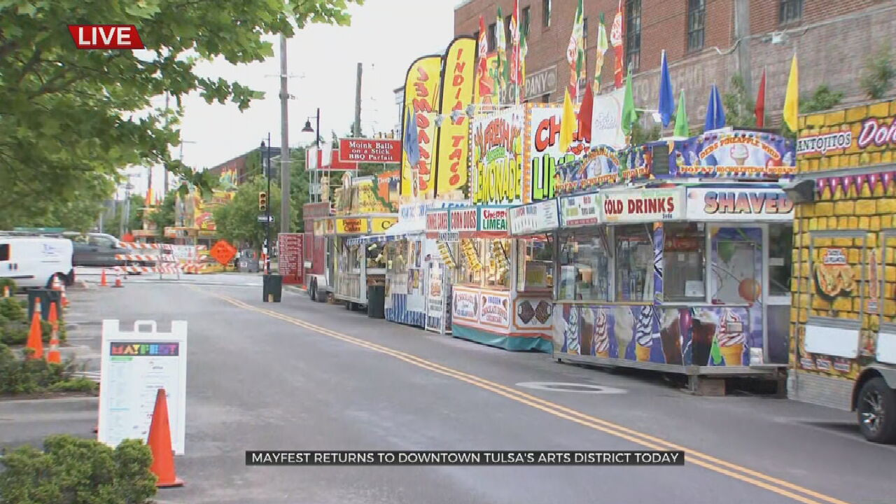 Mayfest Returns To Downtown Tulsa After 2 Year Hiatus
