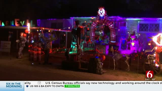 Tulsa Resident Goes Above And Beyond For Halloween