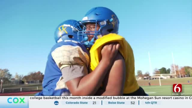 Will Rogers Looks To Playoffs With Winning Combo Of Football & 'Food Truck'