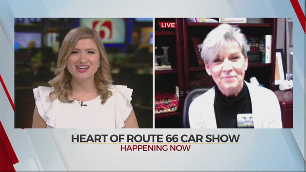 Heart Of Route 66 Auto Museum Hosts Car Show In Sapulpa