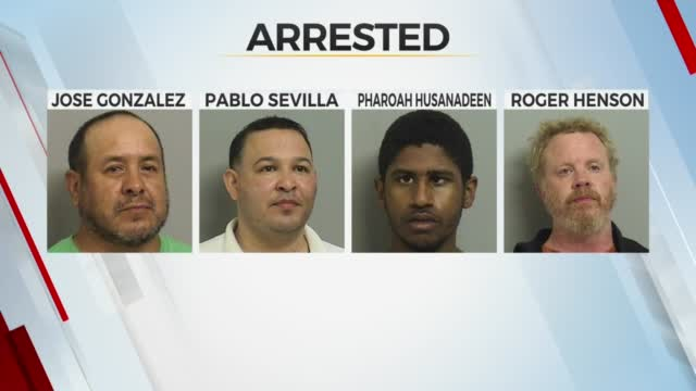 4 Arrested During Undercover Prostitute Sting In Tulsa