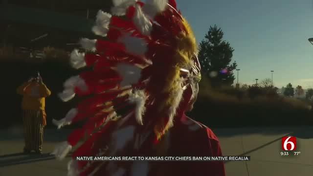 Native Americans React To Kansas City Chiefs Ban On Native Regalia