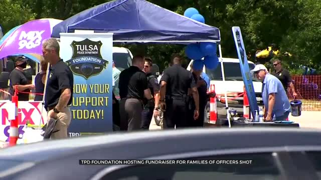 TPD Foundation Hosts Fundraiser For Families Of Officer Shot
