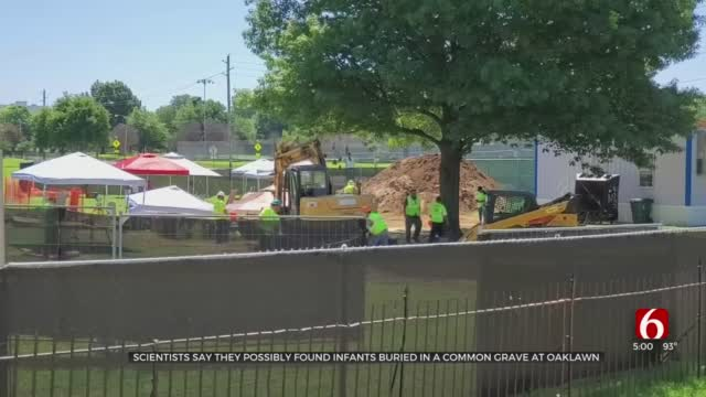 Scientists Say Remains Of 3 Infants Among Burials Found In Oaklawn's Mass Grave