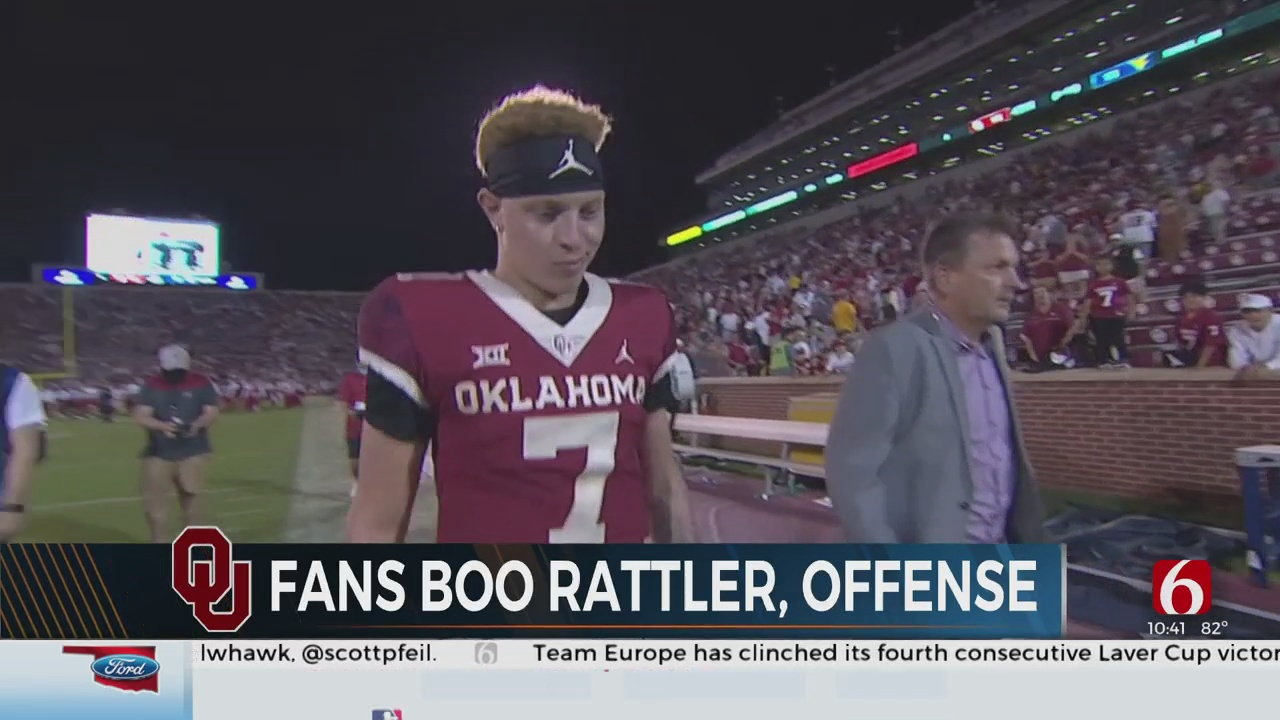 Oklahoma Fans Are Growing Frustrated with Spencer Rattler
