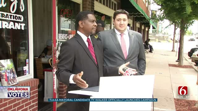 Tulsa Native Ty Walker Launches Campaign For Tulsa Mayor