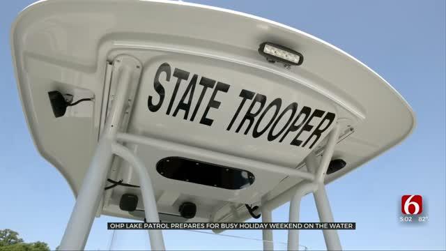 Oklahoma Highway Lake Patrol Getting Ready For Memorial Day Weekend