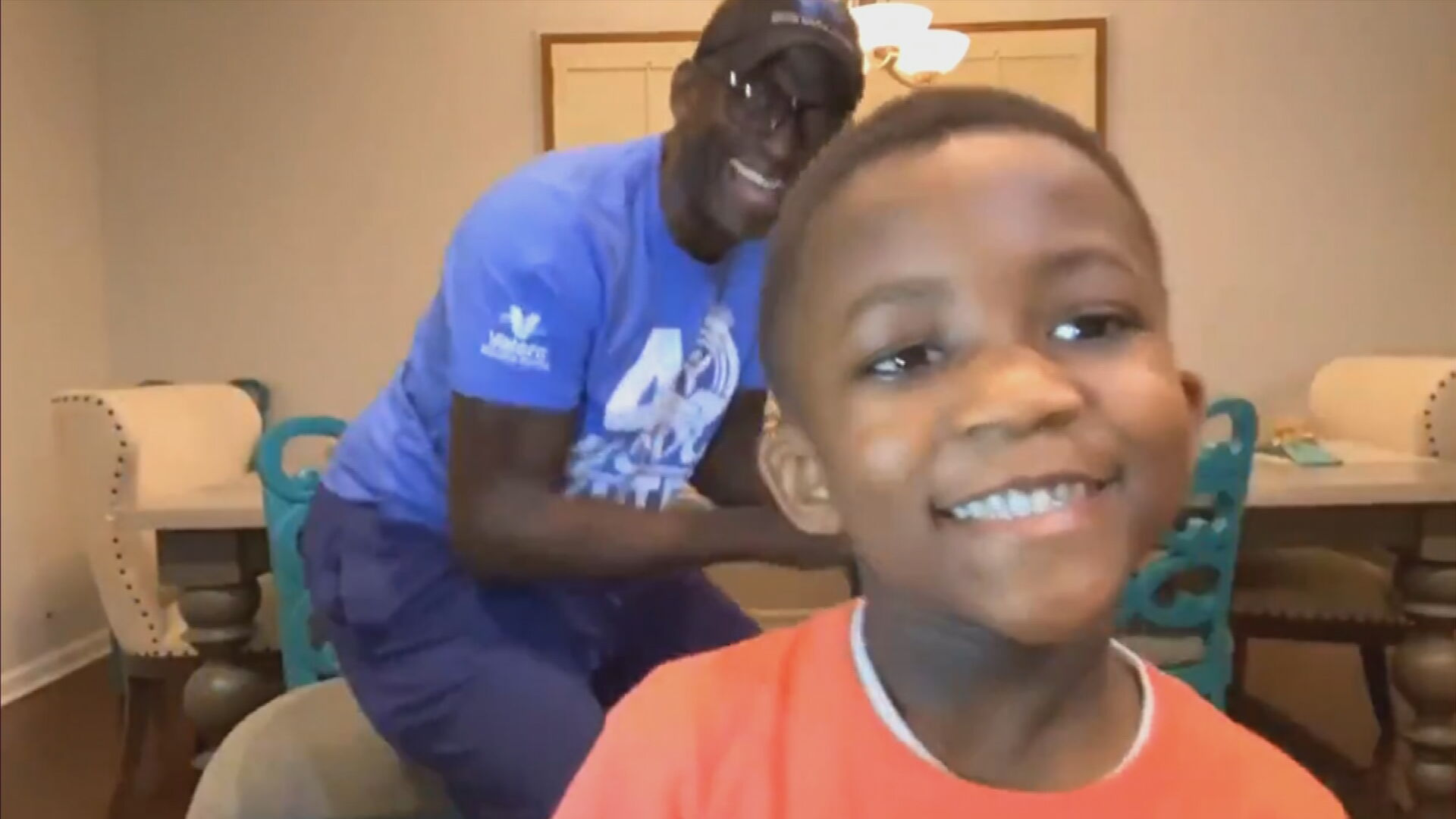 Young Boy Raps The ABC's, Naming Professions For Each Letter