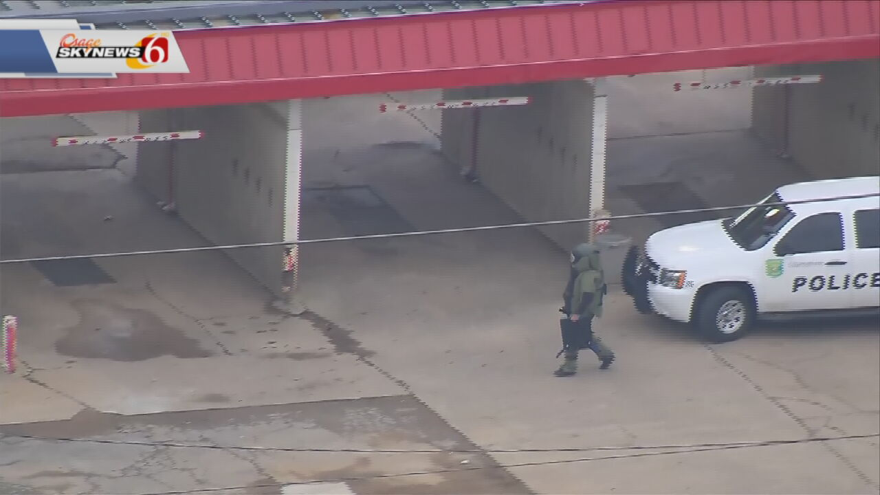 Mysterious Device Found Outside Claremore Liquor Store Not An Explosive