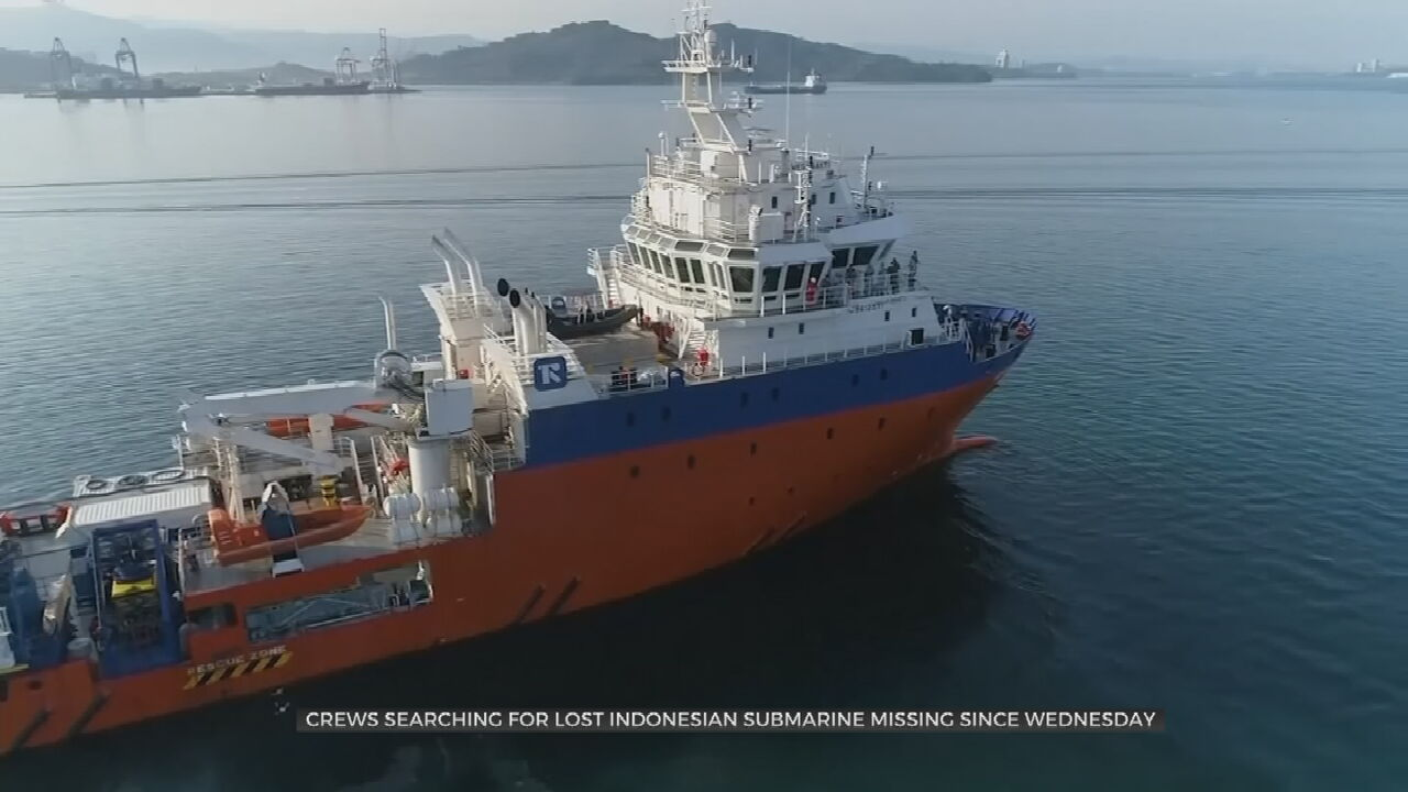 Frantic Search For Missing Indonesian Submarine As Air Dwindles
