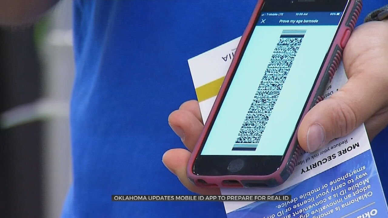 Oklahoma Updates Its Mobile ID App To Support Real ID
