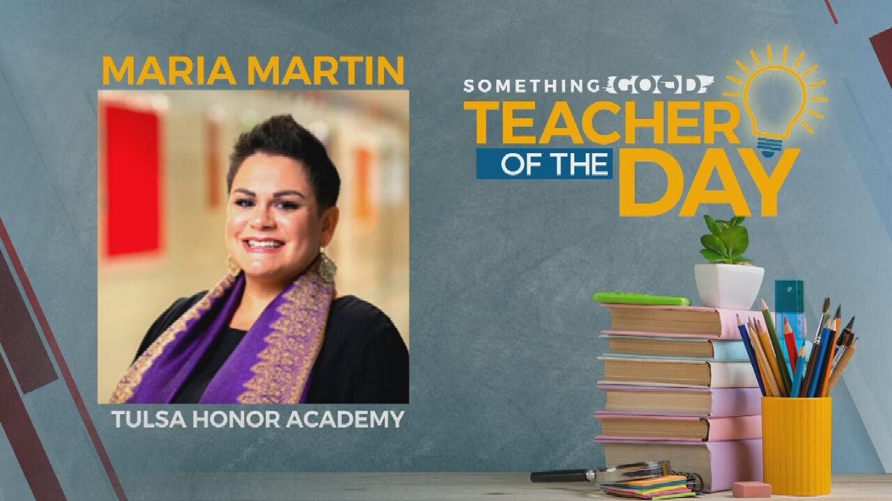 Teacher Of The Day: Maria Martin