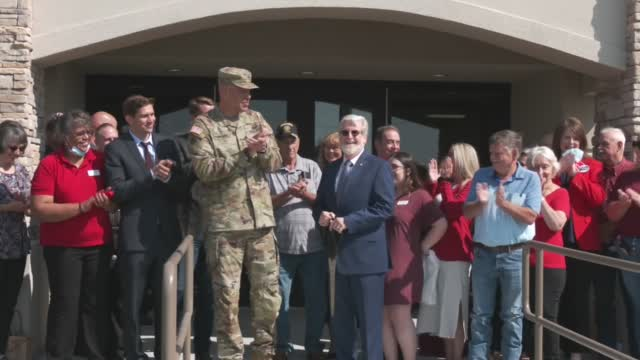 Renovated Oklahoma National Guard Amory Officially Unveiled In Okmulgee