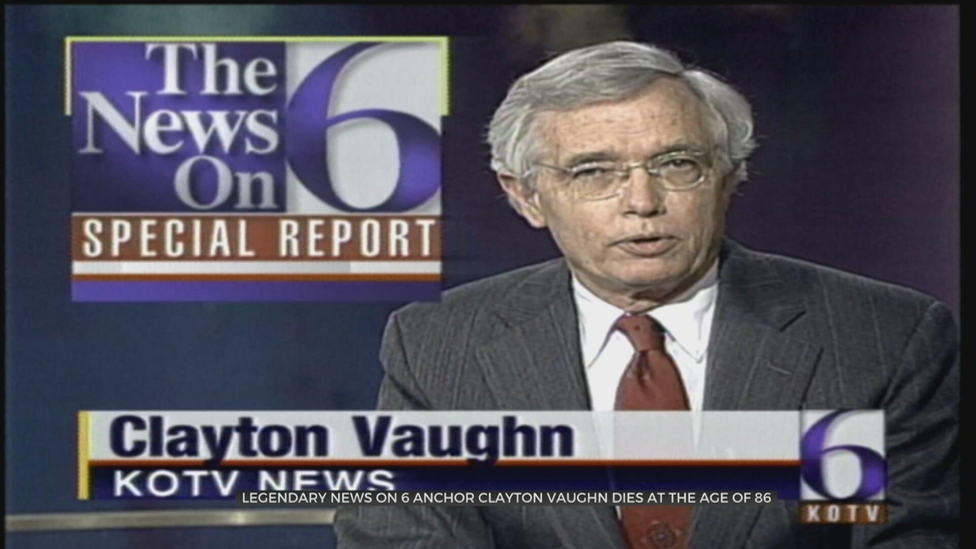 Former KOTV News On 6 Anchor, Hall-Of-Fame Journalist Clayton Vaughn Dies