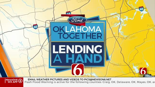 Lending A Hand: News On 6, Your Oklahoma Ford Dealers Announce Winner