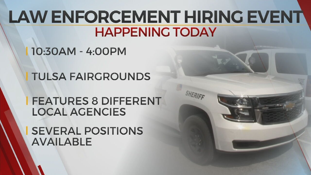 Several Agencies Taking Part In Law Enforcement Hiring Event