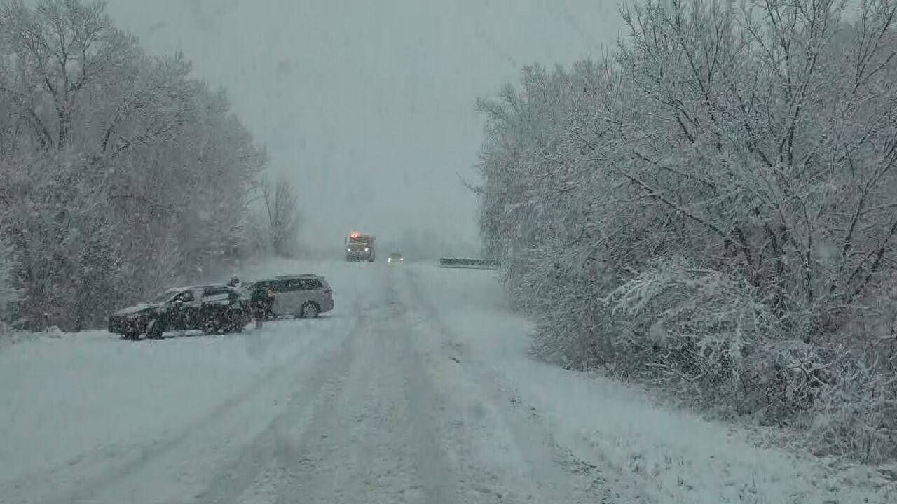 Emergency Crews Respond To Traffic Accidents Across Oklahoma