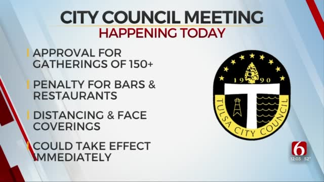 Tulsa City Council To Consider Tighter Restrictions For Large Gatherings