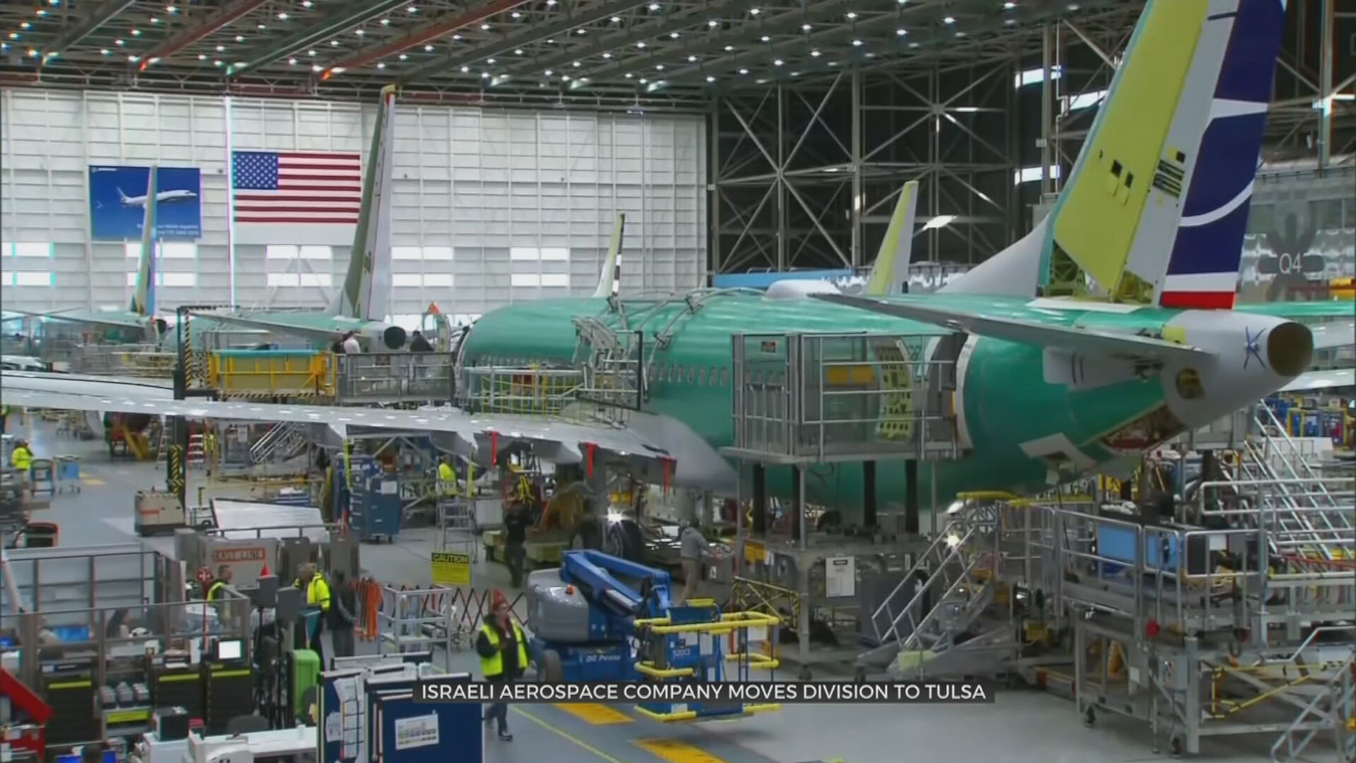 Aerospace Company To Move Manufacturing Line From Israel To Tulsa