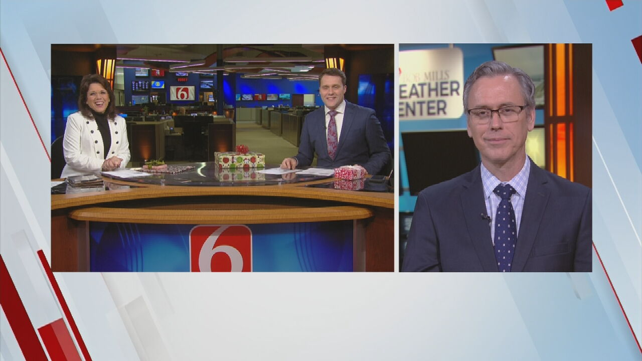 Watch: 6 In The Morning Team Opens Christmas Gifts