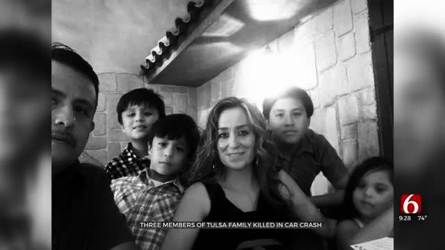Three Members Of Tulsa Family Killed In Car Crash
