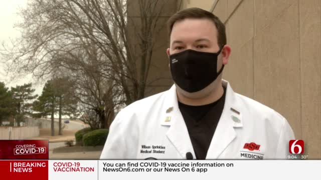 OSU Medical Students Aid Effort To Vaccinate Oklahomans Against COVID-19
