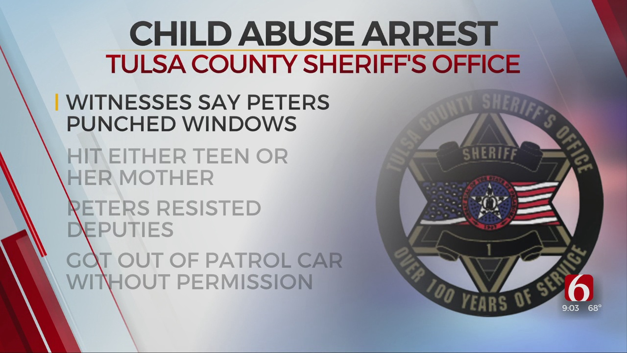 Tulsa County Officials Say Man Attempted To Abuse Teenager