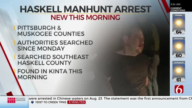 Update: Man Accused Of Kidnapping Arrested After Manhunt