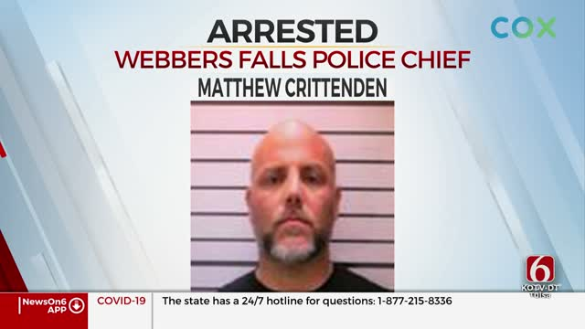 Webbers Falls Police Chief Arrested, Officials Say