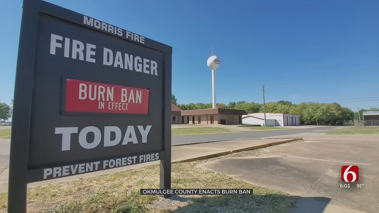 Le Flore, Okmulgee County Enact Burn Bans Amid Hot, Dry Conditions