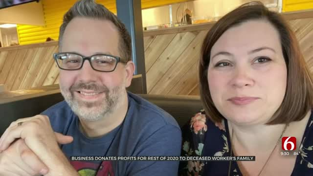 Oklahoma Business Donates Rest Of 2020's Profits To Deceased Worker's Family