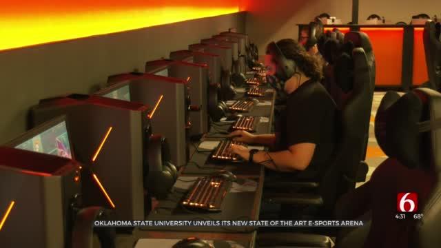 Oklahoma State University Unveils New Esports Arena