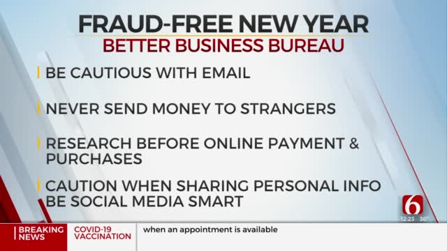 Fraud Watch: Better Business Bureau Shares Tips To Avoid Scams