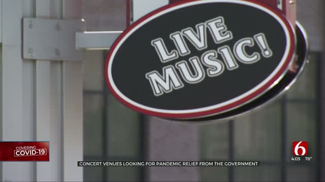 Concert Venues Looking For Pandemic Relief From Government