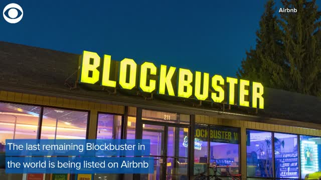 Watch: World's Last Blockbuster Being Listed On Airbnb