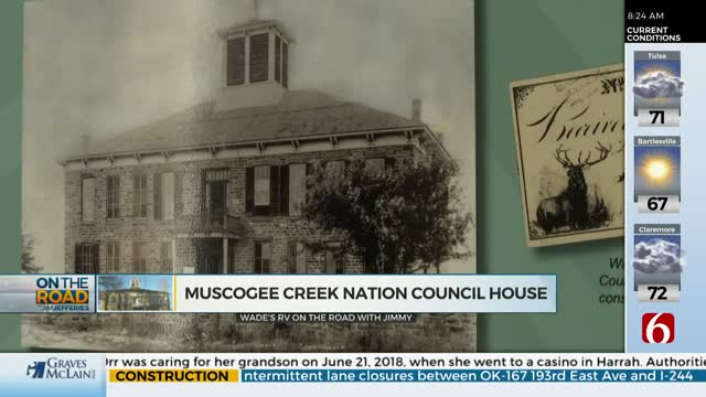 On The Road With Jim Jefferies: Muscogee (Creek) Nation Council House & Cultural Center