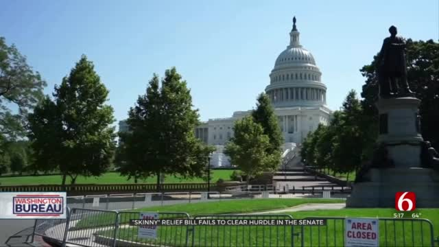 'Skinny' Pandemic Relief Bill Fails To Clear Hurdle In US Senate