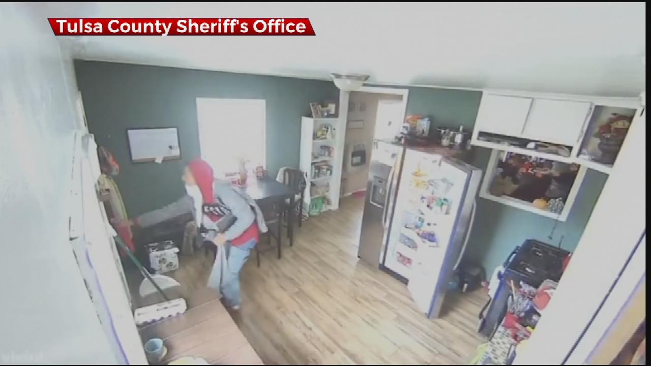 Tulsa County Deputies Searching For Burglary Suspect
