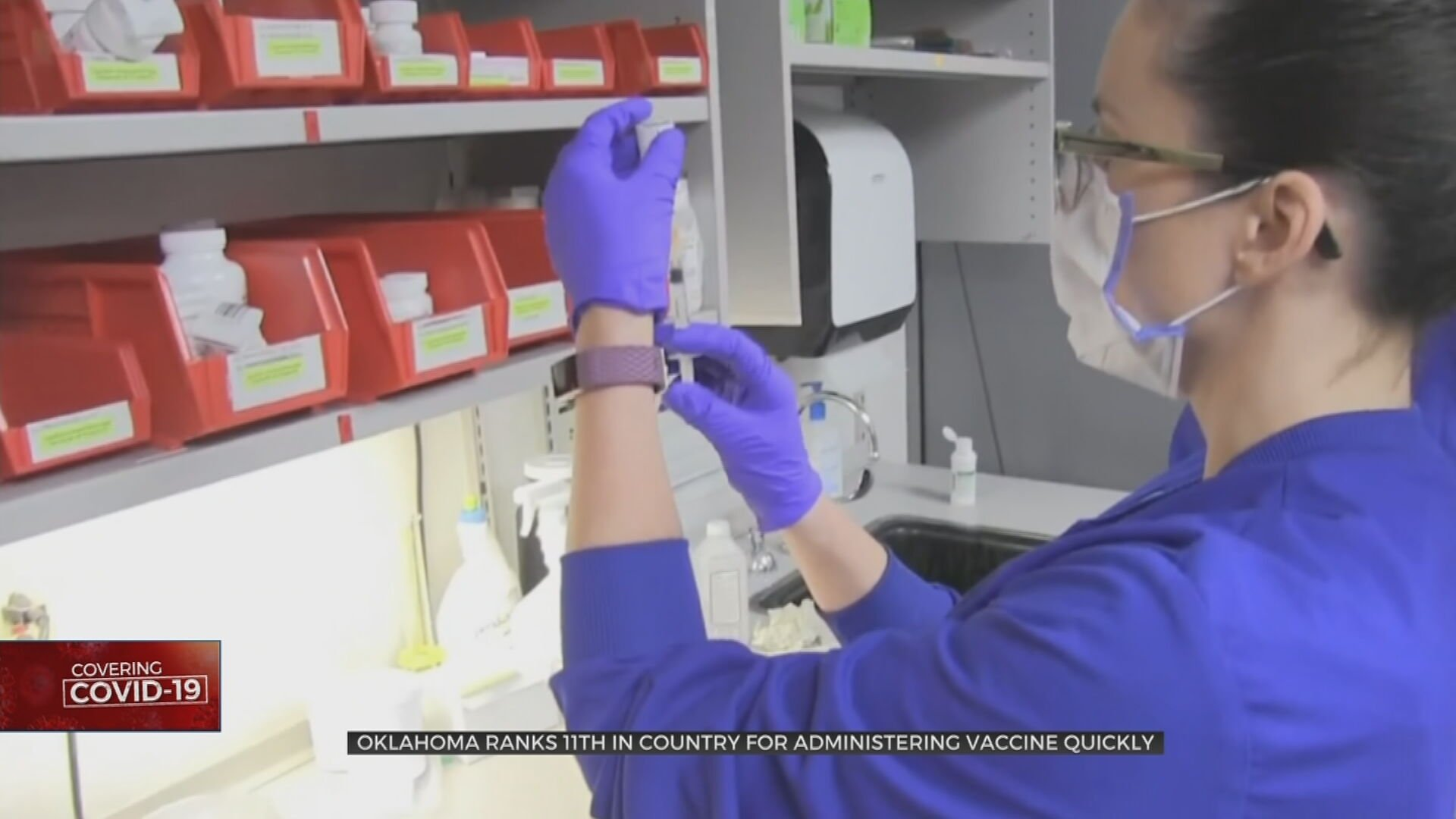 Oklahoma Sees Increase In COVID-19 Cases; Ranks 11th Nationally In Administering Vaccine Quickly