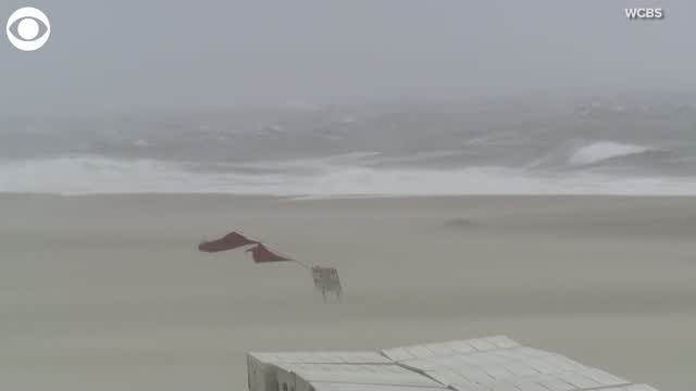 Watch: Tropical Storm Isaias Hits New York City, New Jersey